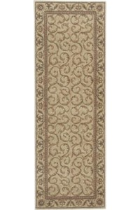 Capel Rugs Creative Concepts Cane Wicker - Arden Chocolate (746) Rectangle 10' x 10' Area Rug