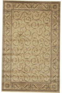 Capel Rugs Creative Concepts Cane Wicker - Java Journey Chestnut (750) Rectangle 10' x 10' Area Rug