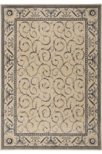 Capel Rugs Creative Concepts Cane Wicker - Canvas Persimmon (847) Rectangle 10' x 10' Area Rug