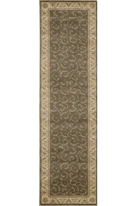 Capel Rugs Creative Concepts Cane Wicker - Bahamian Breeze Cinnamon (875) Rectangle 10' x 10' Area Rug