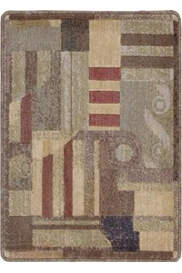 Capel Rugs Creative Concepts Cane Wicker - Cayo Vista Tea Leaf (210) Rectangle 12' x 12' Area Rug