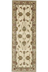 Capel Rugs Creative Concepts Cane Wicker - Coral Cascade Avocado (225) Rectangle 12' x 12' Area Rug