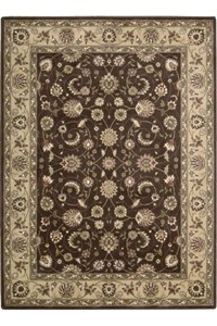 Capel Rugs Creative Concepts Cane Wicker - Cayo Vista Graphic (315) Rectangle 12' x 12' Area Rug