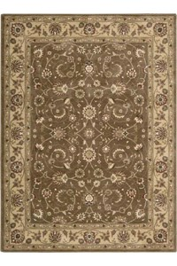 Capel Rugs Creative Concepts Cane Wicker - Arden Black (346) Rectangle 12' x 12' Area Rug