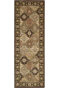 Capel Rugs Creative Concepts Cane Wicker - Down The Lane Ebony (370) Rectangle 12' x 12' Area Rug