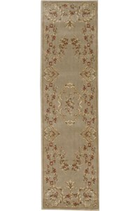 Capel Rugs Creative Concepts Cane Wicker - Coral Cascade Navy (450) Rectangle 12' x 12' Area Rug