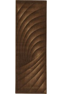 Capel Rugs Creative Concepts Cane Wicker - Tuscan Stripe Adobe (825) Rectangle 12' x 12' Area Rug