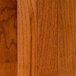 "LW Mountain Pre-Finished Hand-Scraped Oak: Gunstock 3/4"" x 4 3/4"" Solid Hardwood WESH13/434"