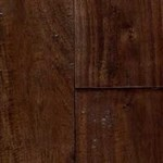 "Signature Pre-Finished Hand-Scraped Walnut: Natural 3/4"" x 4 3/4"" Solid Hardwood"