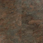 USFloors Coretec Plus: River Slate Engineered Luxury Vinyl Tile with Cork Comfort 50LVT106
