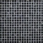 "Daltile Marvel: Onyx 5/8"" x 5/8"" Glass Mosaic Tile MV22-5858MS1P"
