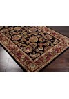 Surya Ancient Treasures Jet Black (A-108) Square 1'6