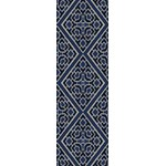 "Surya Beth Lacefield Alameda Sapphire Blue (AMD-1005) Rectangle 2'6"" x 8'0"""