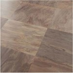 Faus Floor Masterpieces Collection: Multi Color Slate Desert 10mm Laminate With Attached Pad F-706377