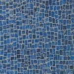 Karndean Michelangelo Tile: Adriatic Blue Italian Mosaic Luxury Vinyl Tile MX98