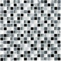 "Anatolia Bliss Glass Stone Blend Mosaic 5/8"" x 5/8"" : Midnight 35-004"