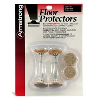 Armstrong Floor Protectors: Light Oak S-120 (4 pack)