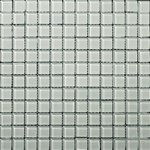 "Emser Lucente Solids Glass Mosaic 12.5"" x 12.5"" : Crystalline"