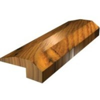 "From The Forest Oak Street: Threshold Brown Sugar Red Oak - 78"" Long"