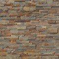 "MS International Gold Rush Ledger Panel 6"" x 24"" Natural Slate Wall Tile : LPNLSGLDRUS624"