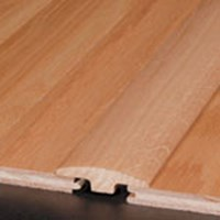 "Armstrong Kingsford Solid Strip Oak: T-mold Natural - 78"" Long"