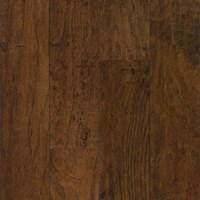 "Armstrong American Scrape: Wilderness Brown 3/8"" x 5"" Engineered Hickory Hardwood EAS509"
