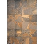 "Interceramic Slate Supremo: Multicolor 16"" x 24"" Ceramic Tile SS-24-MULTICOLOR"