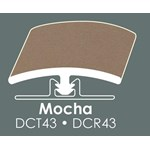 "Congoleum Duraceramic Reducer: Mocha - 94"" Long"