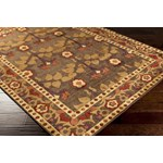 "Surya Basilica Wenge (BSL-7194) Rectangle 2'2"" x 3'0"""