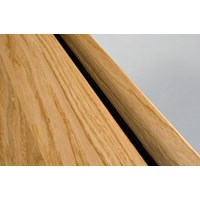 "Kahrs Linnea Country Collection:  Square Nose Reducer Red Oak Natural - 78"" Long"