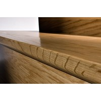 "Kahrs Linnea City Collection: Flush Stair Nose Brazilian Cherry Natural - 78"" Long"