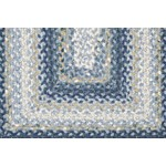 "Surya Country Living Cottage Braids Midnight Blue (CTG-4508) Rectangle 5'0"" x 8'0"""