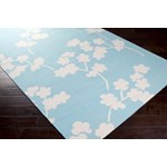"Surya Jill Rosenwald Fallon Robin's Egg Blue (FAL-1063) Rectangle 3'6"" x 5'6"""