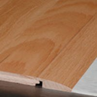 "Robbins Hardwood Flooring from Armstrong Regent Sapele Plank: Reducer Wrought Iron - 78"" Long"