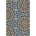 "Chandra Amy Butler (AMY13200-79106) 7'9""x10'6"" Rectangle Area Rug"