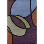 "Chandra Bense (BEN3002-576) 5'0""x7'6"" Rectangle Area Rug"