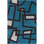 "Chandra Bense (BEN3005-576) 5'0""x7'6"" Rectangle Area Rug"