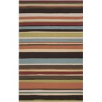 "Surya Rain Wenge (RAI-1091) Rectangle 5'0"" x 8'0"""