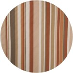 "Surya Rain Red Clay (RAI-1092) Round 8'0"" x 8'0"""