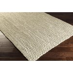 "Surya Reeds Elephant Gray (REED-800) Rectangle 3'3"" x 5'3"""