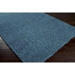 "Surya Shimmer Bright Cerulean (SHI-5004) Rectangle 3'6"" x 5'6"""