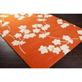 Surya Jill Rosenwald Zuna Orange-Red (ZUN-1066) Rectangle 8
